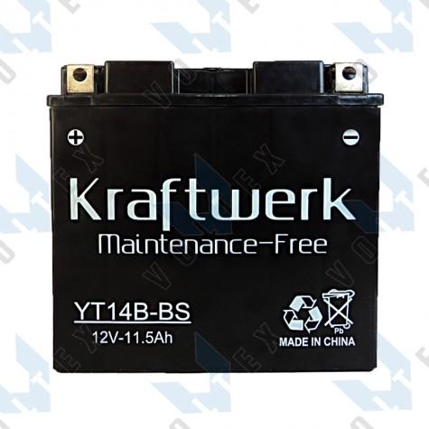 Мото аккумулятор Kraftwerk YT14B-BS 12Ah