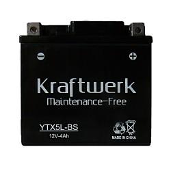 Мото аккумулятор Kraftwerk YTX5L-BS 4Ah