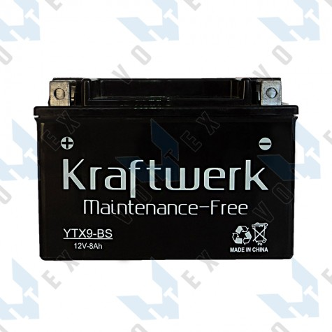Мото аккумулятор Kraftwerk YTX9-BS 8Ah