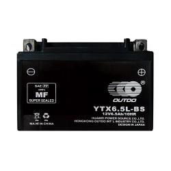 Мото аккумулятор Outdo YTX6.5L-BS 6.5 Ah