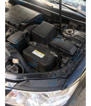 Установка нового аккумулятора на Hyundai Sonata 2.0 бензин
