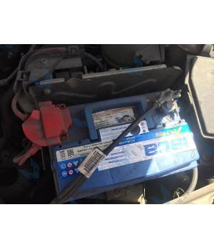Установка аккумулятора на Renault Sandero Stepway 1.6 бензин