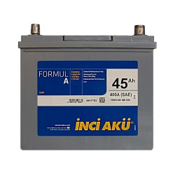 Аккумулятор Inci Aku Formula 45Ah JR+ 400A