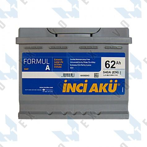 Аккумулятор Inci Aku Formula 62Ah L+ 540A