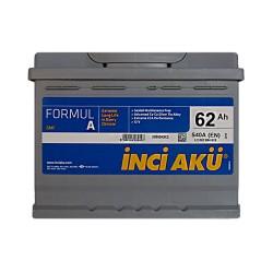 Аккумулятор Inci Aku Formula 62Ah R+ 540A