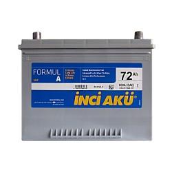 Аккумулятор Inci Aku Formula 72Ah JR+ 600A