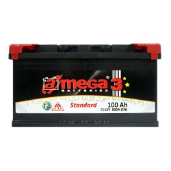 Аккумулятор A-Mega Standard 100Ah L+ 850A