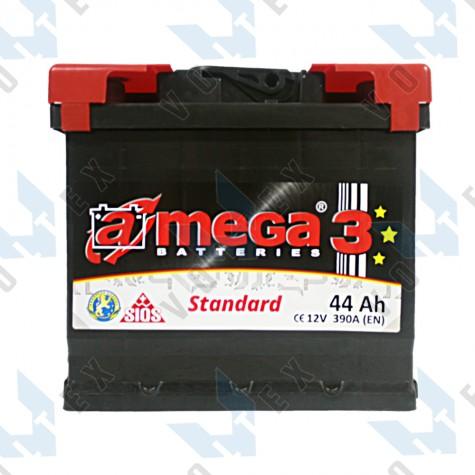 Аккумулятор A-Mega Standard 44Ah L+ 390A
