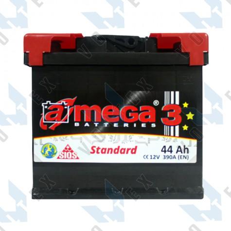 Аккумулятор A-Mega Standard 44Ah R+ 390A