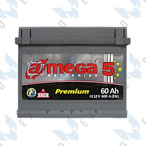Аккумулятор A-Mega Premium 60Ah L+ 600A