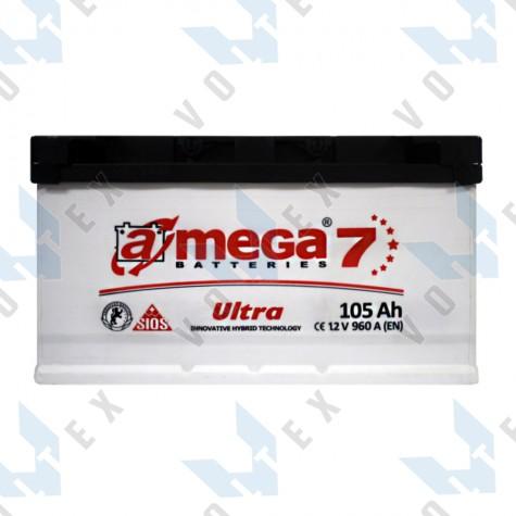 Аккумулятор A-Mega Ultra 105Ah L+ 960A