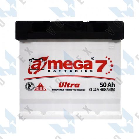 Аккумулятор A-Mega Ultra 50Ah L+ 480A