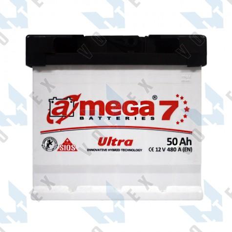 Аккумулятор A-Mega Ultra 50Ah R+ 480A
