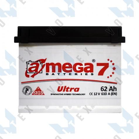 Аккумулятор A-Mega Ultra 62Ah R+ 610A