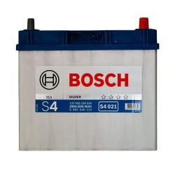 Аккумулятор Bosch S4 45Ah JR+ 330A (тонкая клемма)