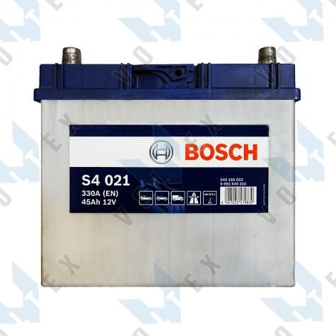 Аккумулятор Bosch S4 45Ah JL+ 330A