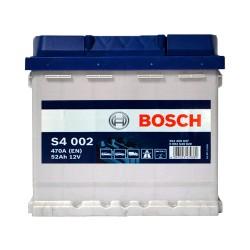 Аккумулятор Bosch S4 52Ah R+ 470A