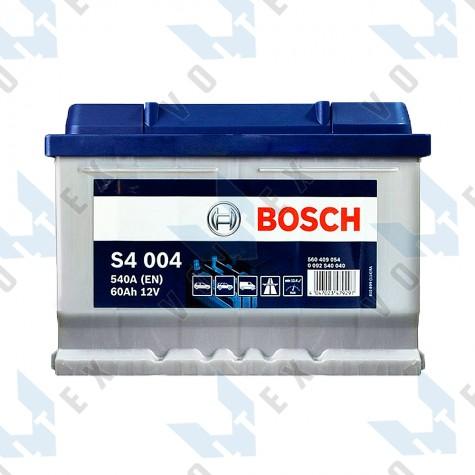 Аккумулятор Bosch S4 60Ah R+ 540A (низкобазовый)