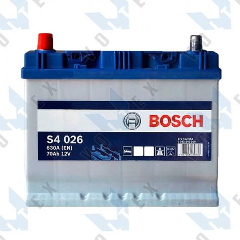 Аккумулятор Bosch S4 70Ah JL+ 630A
