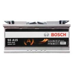 Аккумулятор Bosch S5 AGM 105Ah R+ 950A