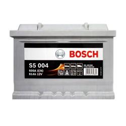 Аккумулятор Bosch S5 61Ah R+ 600A (низкобазовый)