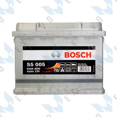 Аккумулятор Bosch S5 63Ah R+ 610A