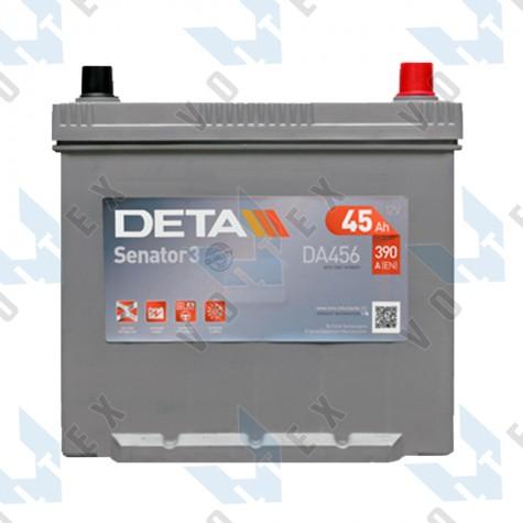 Аккумулятор Deta Senator 3 Carbon Boost Asia 45Ah JR+ 390A