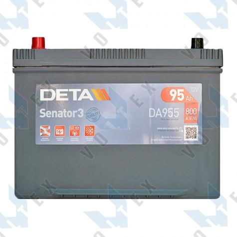 Аккумулятор Deta Senator 3 Carbon Boost Asia 95Ah JL+ 800A