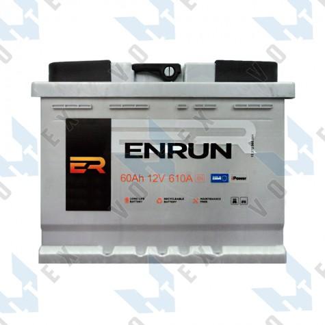 Аккумулятор Enrun Standard 60Ah R+ 610A