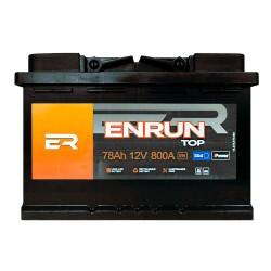 Аккумулятор Enrun Top 78Ah R+ 800A