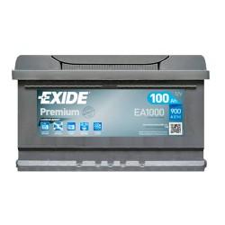 Аккумулятор Exide Premium 100Ah R+ 900A