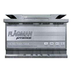 Аккумулятор Flagman Premium 74Ah R+ 720A