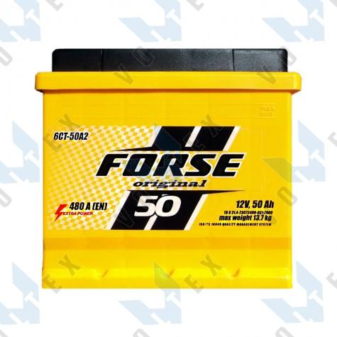 Аккумулятор Forse Original 50Ah L+ 480A