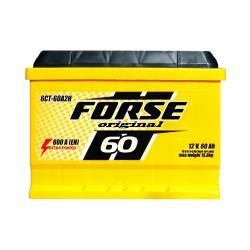 Аккумулятор Forse Original 60Ah L+ 600A (низкобазовый)