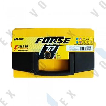 Аккумулятор Forse Original 77Ah L+ 760A