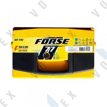 Аккумулятор Forse Original 77Ah R+ 760A