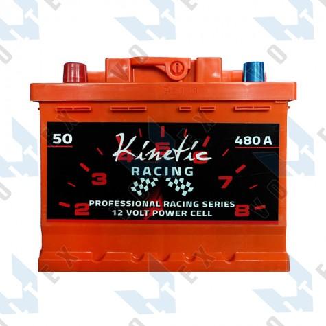 Аккумулятор Kinetic Racing 50Ah L+ 480A (низкобазовый)