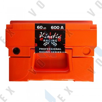 Аккумулятор Kinetic Racing 60Ah L+ 600A (низкобазовый)