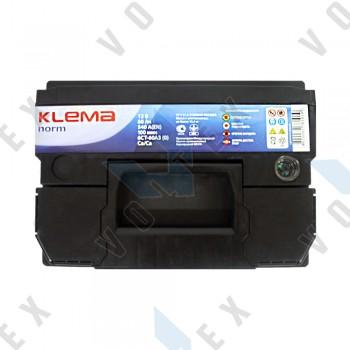 Аккумулятор Klema norm 60Ah R+ 540A