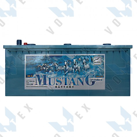 Аккумулятор Mustang 190Ah (3) 1250A