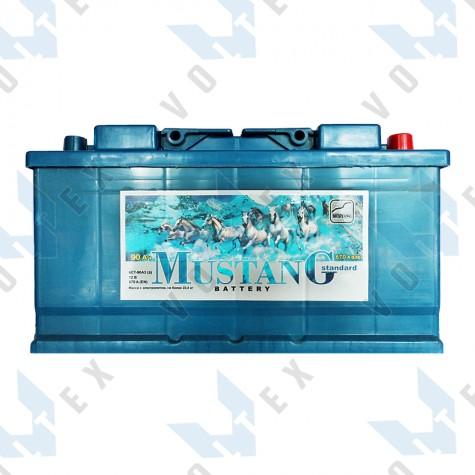 Аккумулятор Mustang 90Ah R+ 670A