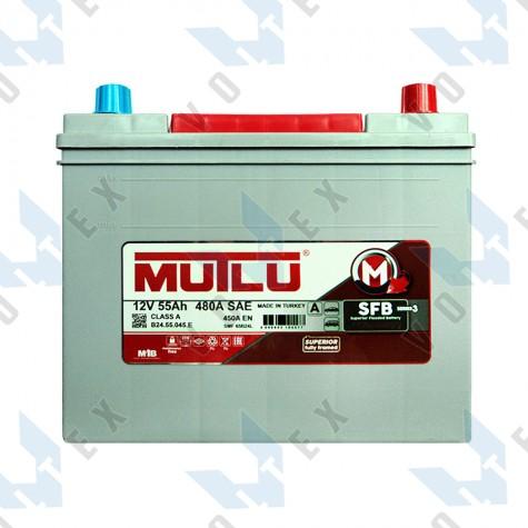 Аккумулятор Mutlu SFB technology 55Ah JR+ 450A (Honda)