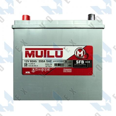 Аккумулятор Mutlu SFB technology 60Ah JL+ 520A