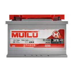 Аккумулятор Mutlu SFB technology 75Ah R+ 720A