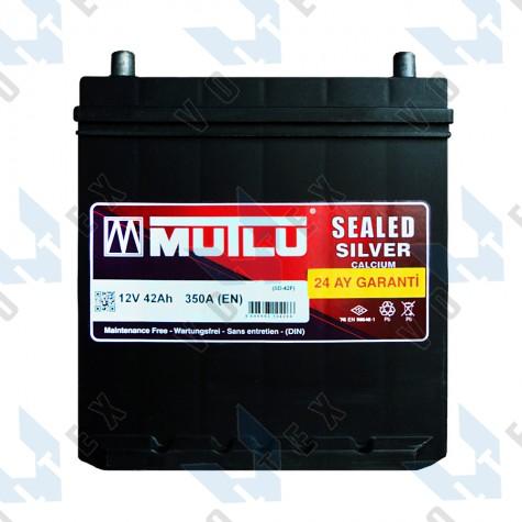 Аккумулятор Mutlu 42Ah JL+ 350A (тонкая клемма)