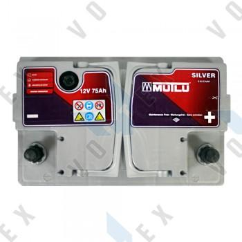 Аккумулятор Mutlu 75Ah R+ 720A