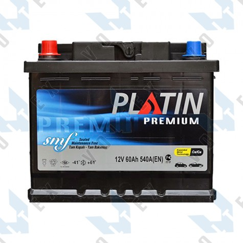 Аккумулятор Platin Premium SMF 60Ah L+ 540A