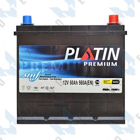 Аккумулятор Platin Premium Asia SMF 60Ah JR+ 560A
