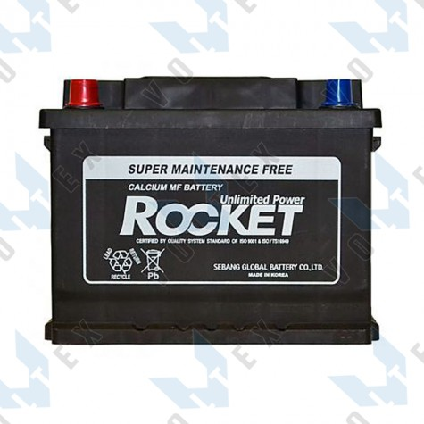 Аккумулятор Rocket SMF56217 62Ah L+ 510A