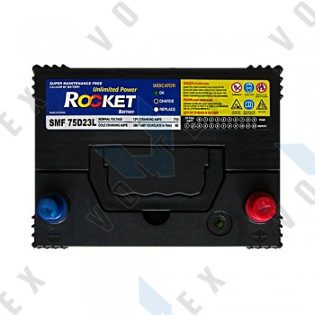 Аккумулятор Rocket SMF75D23L 65Ah JR+ 580A